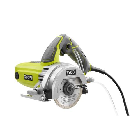 Ryobi Tile Saw Water ryobi 4 in tile saw tc401 the home depot