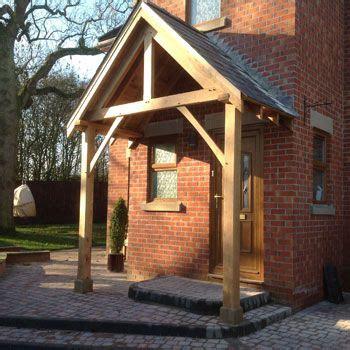 bespoke wooden door canopies porch design