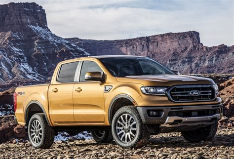 All-new Ford Ranger Pickup Coming Later This Year