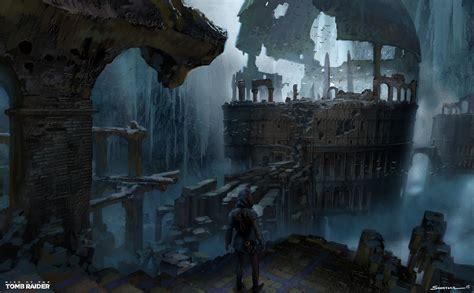 Artstation Kitezh Boss Arena Vista Rise Of The Tomb