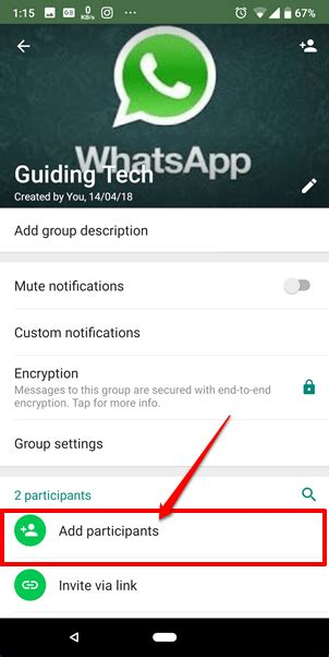 add contacts  whatsapp  android