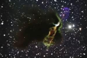 Herbig-Haro 46/47 - birth of new star or electromagnetic z ...