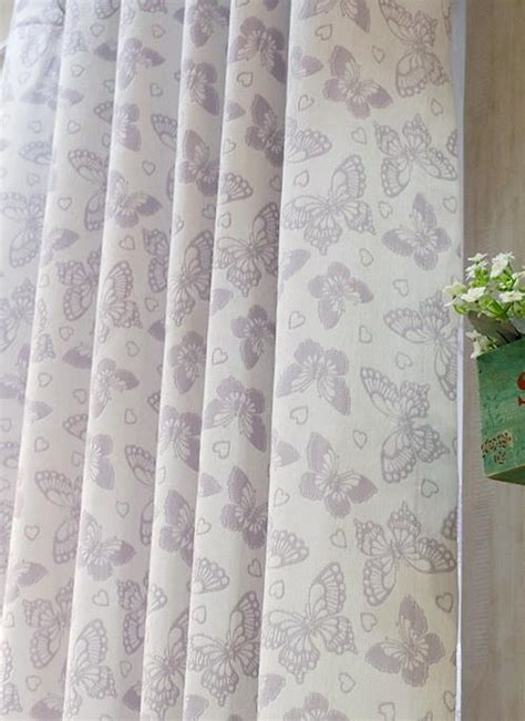 shabby chic curtains purple purple lavender butterfly chenille romantic princess shabby chic curtains
