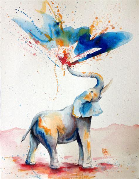 bethany cannon studios elephant spray in color