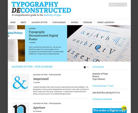 typography deconstructed elmanco