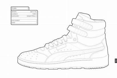 Coloring Sneaker Sneakers Reebok Kidrobot Sociable