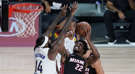Butler scores 27 points, Heat beat Pacers to take 3-0 lead ...