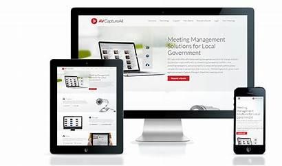 Responsive Website Av Launch Capture Software Development