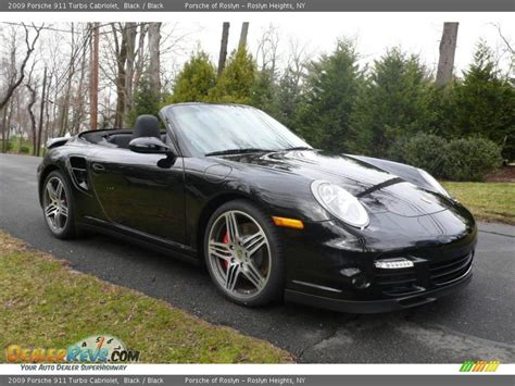 porsche 911 convertible black 2009 porsche 911 turbo cabriolet black black photo 8