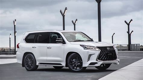 2019 Lexus Lx 570 S Debuts In Australia With Angry Body