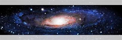 Banner Space Galaxy Andromeda Universe Stars 32x24