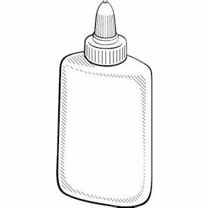 Glue - White clipart, cliparts of Glue - White free ...