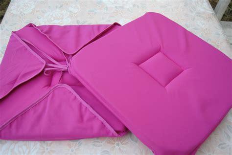 couture accessoire cuisine la galette de chaise au début une table