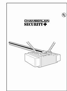 Chamberlain Garage Door Opener 8200 1  2 Hp User Guide