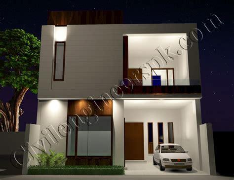 marla house plan   views civil engineers pk