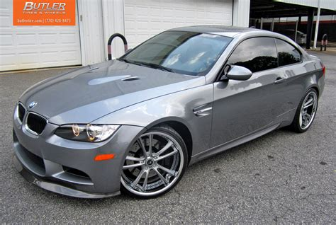 Bmw Space Grey by Space Grey Bmw E92 M3 Rides On Brand New Savini Wheels