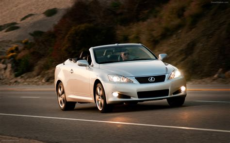 lexus convertible 2010 2010 lexus is convertible widescreen exotic car wallpaper