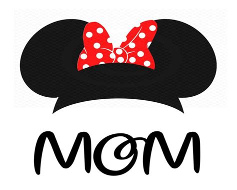 instant  minnie mouse ears iron  transfer minnie mouse decal mom disney shir