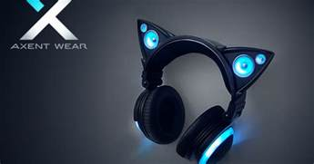 cat headphones axent wear cat ear headphones indiegogo