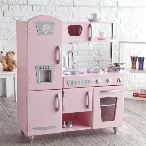 kidkraft pink vintage kitchen  play kitchens