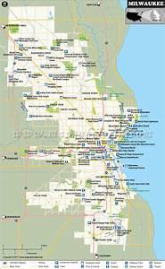 Milwaukee Map, Wisconsin | Milwaukee City Map