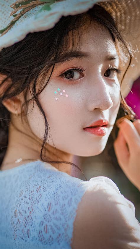 Asian Girl Cuteness Hat Free 4k Ultra Hd Mobile Wallpaper