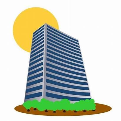 Building Tall Clip Clipart Vector Edificio Buildings