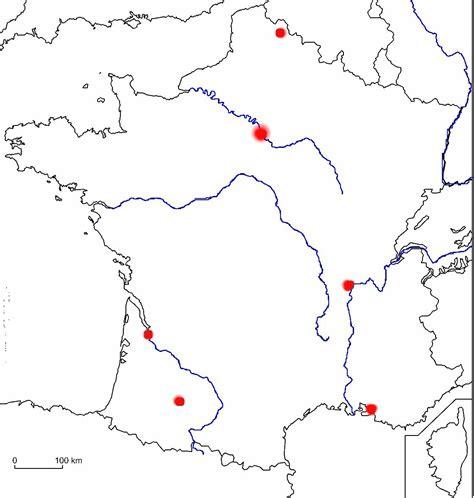 Carte Des Fleuves De Et Villes by Outils De G 233 Ographie