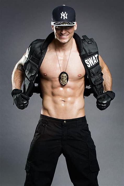 stripper als swat officer david military  cops