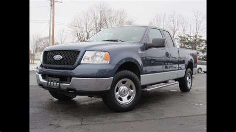 2005 Ford F-150 Xlt 5.4l V8 4x4 For Sale New Michelin