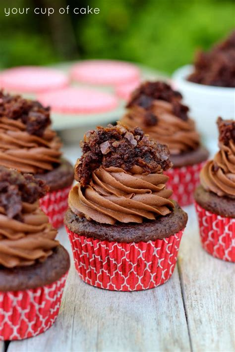 1000 Ideas About Brownie Cupcakes On Pinterest Cupcake