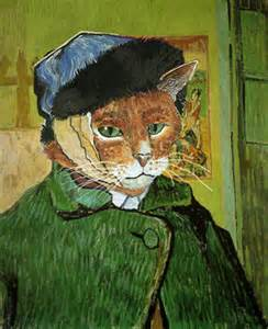 gogh cat diary of a artist quotes about cats open space