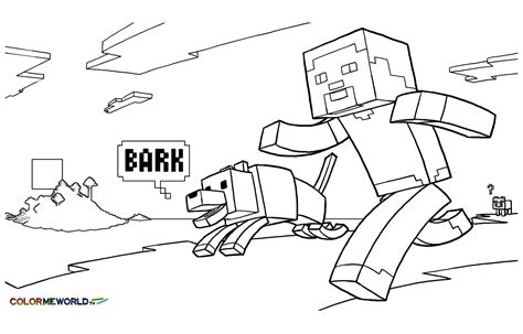 drawing inspired minecraft coloring pages  kids  print color