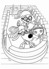 Coloring Sherman Peabody Mr Richard Clipart Library Clip Popular Checks Template sketch template