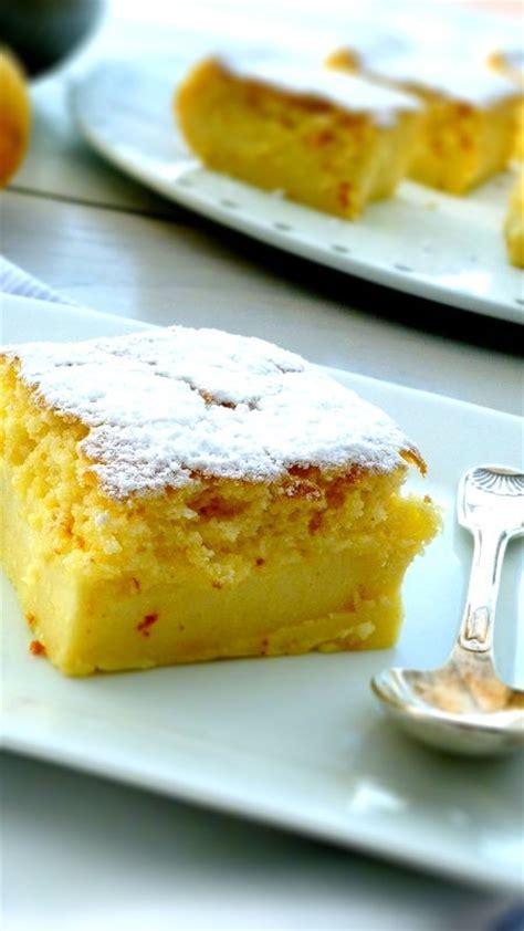 cuisine de tous les jours gâteau magique au citron cuisine de tous les jours