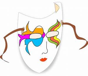 Carnival Mask Clip Art at Clker.com - vector clip art ...