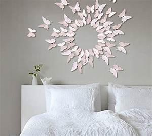 3d Schmetterlinge Wand : wandtattoo baum f rs kinderzimmer ~ Whattoseeinmadrid.com Haus und Dekorationen