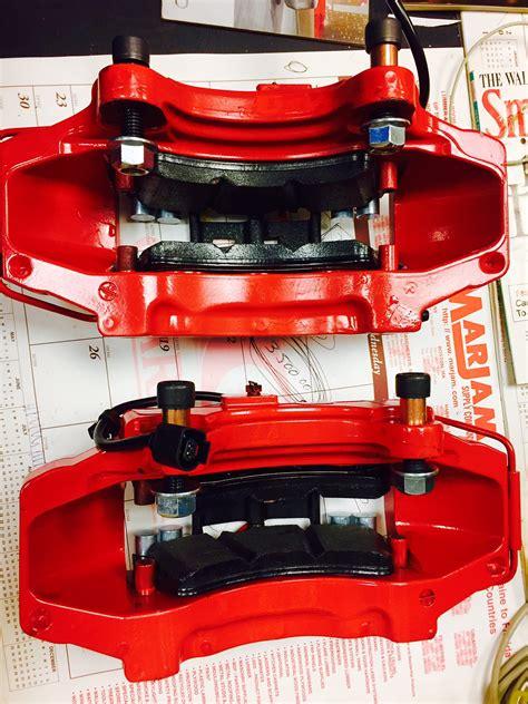 audi  front big brakes complete bb  kit porsche