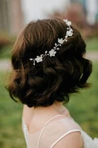 Peigne Cheveux Mariage : coiffure mariage cheveux court laissez vous inspirer ~ Preciouscoupons.com Idées de Décoration