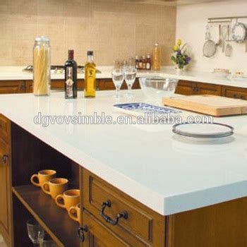 Solid Surface Acrylic Epoxy Resin Kitchen Countertop