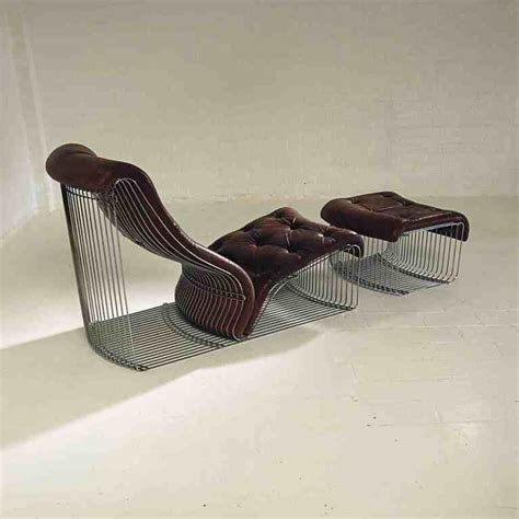 chaise longue and stool design quot verner panton quot original