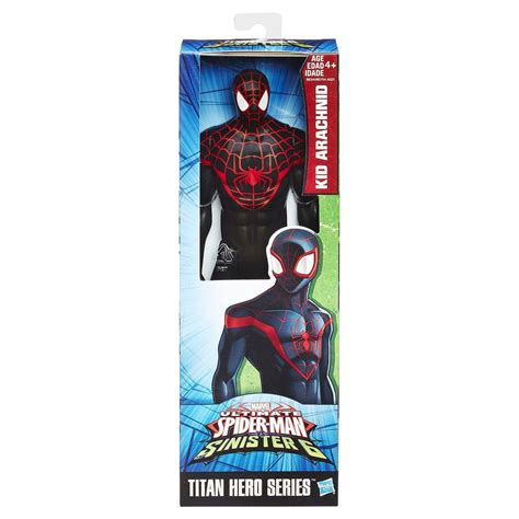 marvel spider man titan hero series ultimate spider man figure mercado do bebe
