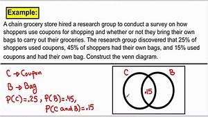 Probability With Venn Diagram
