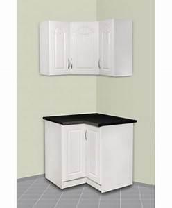 Meuble D Angle Haut Cuisine : meuble d 39 angle haut et bas pour cuisine dina ~ Teatrodelosmanantiales.com Idées de Décoration