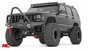 2000 Jeep Cherokee Xj  Black  Vehicle Profile
