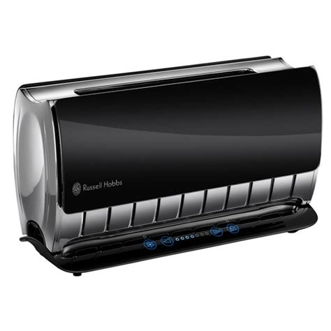 hobbs toaster glas hobbs glass touch 2 slice toaster black toaster reviews compare prices and deals
