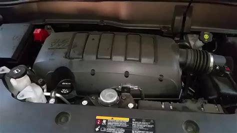 gmc acadia suv  llt  engine idling  oil