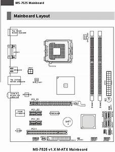 Motherboard Plug In Diagram - Hp Support Community