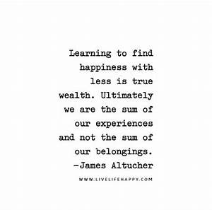 Learning to fin... Find Happiness Quotes
