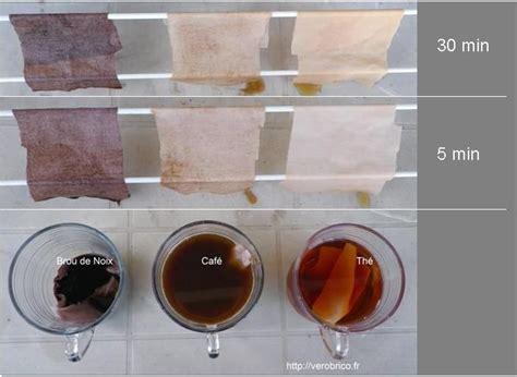 teindre un canapé en tissu brou de noix café ou thé pour vieillir le bois et teindre